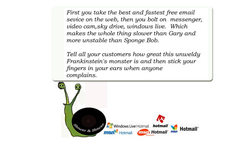 Hotmail Snail