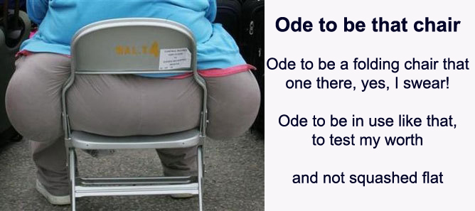 Ode to be that chair
