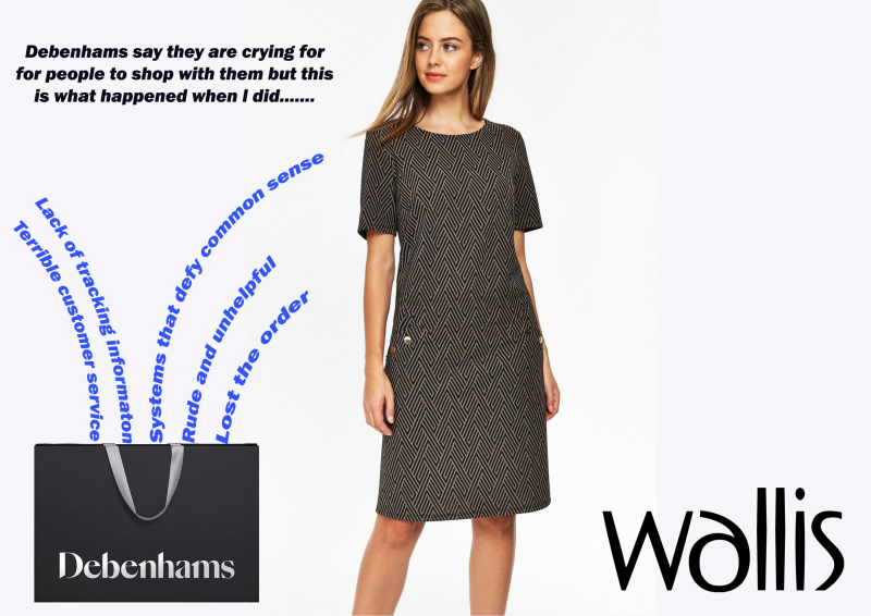 Wallis Shift dress story